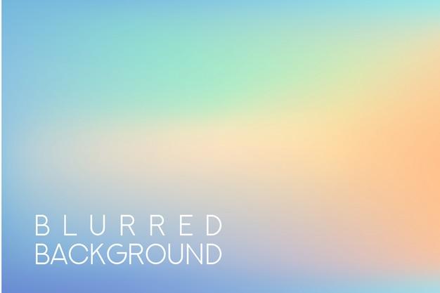 Ampio sfondo sfocato multicolore orizzontale