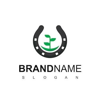 Logo della fattoria dei cavalli