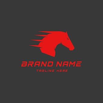 Logo dello sport del cavallo