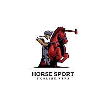 Cavallo da corsa per l'addestramento della velocità degli animali del cavaliere sportivo del cavallo