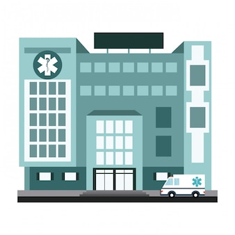 Scenario edificio ospedaliero