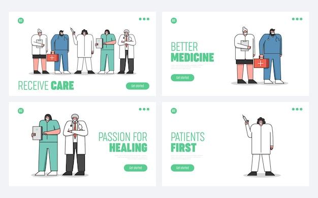 Medici specialisti del personale ospedaliero di emergenza
