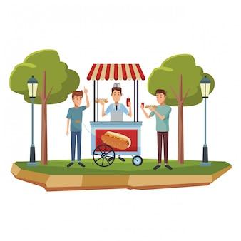 Affari cabina hot dog