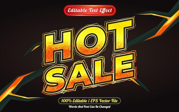 Stile del modello di effetto testo modificabile di vendita calda