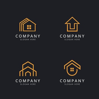 Casa logo template design