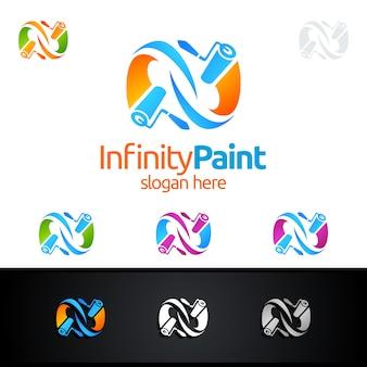 Logo della pittura di casa
