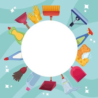 Strumenti e prodotti per le pulizie