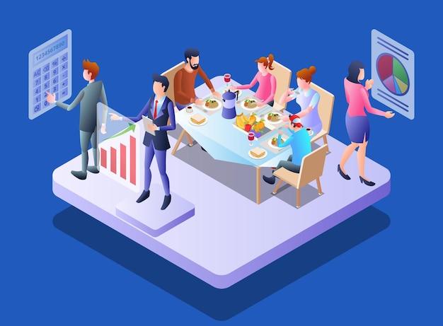 Come il team finanziario lavora per aiutare una famiglia nella gestione finanziaria
