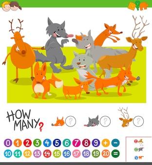 Quanti animali attività