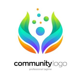 Design del logo per la salute umana