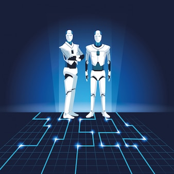 Avatar di robot umanoidi