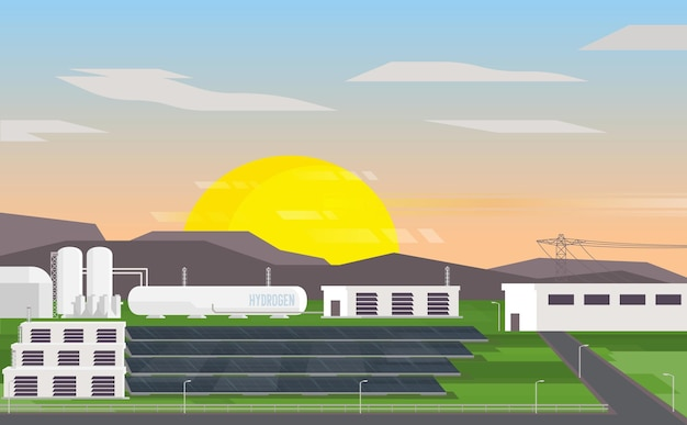 Microgrid a idrogeno con cella solare