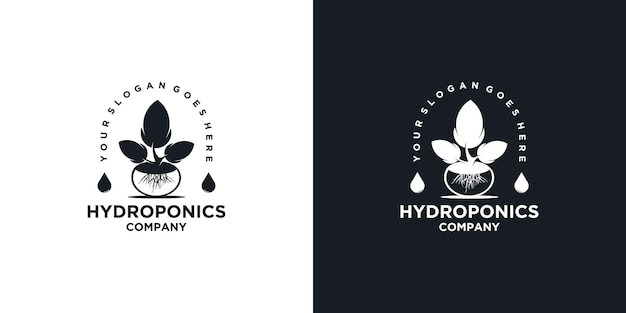 Ispirazione per il logo idroponico