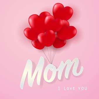 Ti amo mamma con il cuore