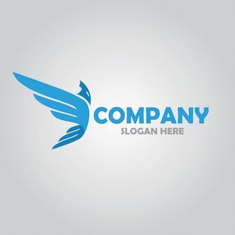 Logo dell'ala di icarus