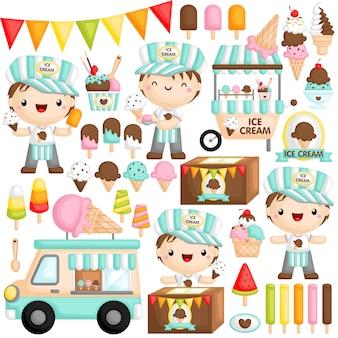Ice cream boy