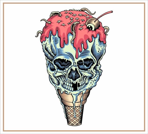 Cranio di gelato