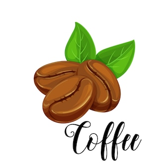 Icona chicco di caffè