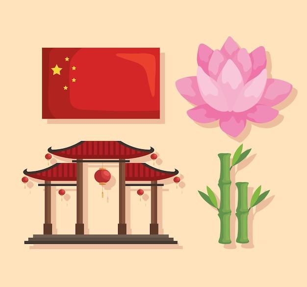 Icone della cultura cinese