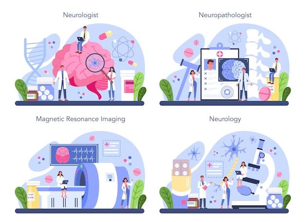 Idea del medico che si prende cura della salute del paziente