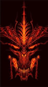 Ifrit illustrazione del demone