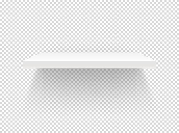 Scaffale illuminato. isolato su trasparente