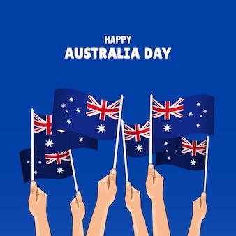 Illustrazione dell'australia day