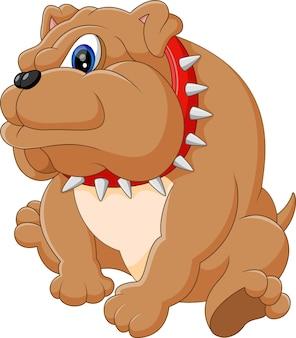 Illustrazione del fumetto del bulldog