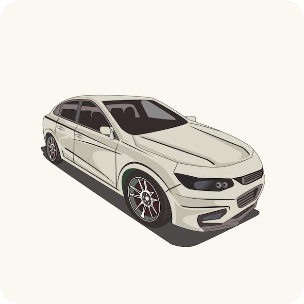 Illustrazione di un'auto