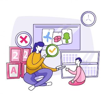 Educazione all'illustrazione per tornare a scuola