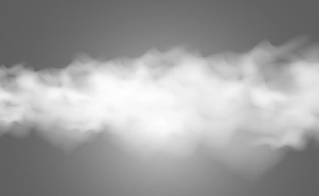 Illustrazione di nebbia o fumo