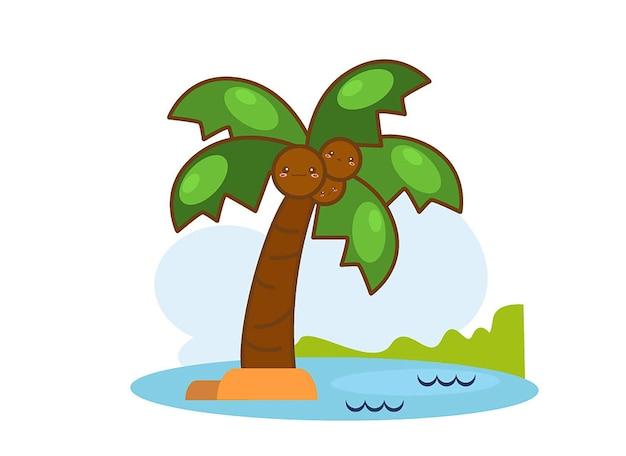 Illustrazione di palme isolate