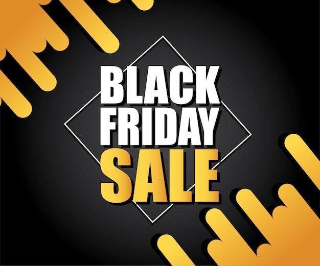 Illustrazione moderna vendita etichetta tag banner modello design, offerta speciale grande vendita. per black friday, offerte, sconti, negozi