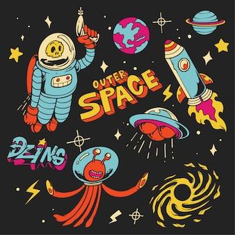 Illustrazione di spazio