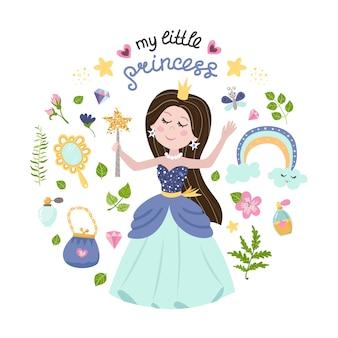 Illustrazione della principessa