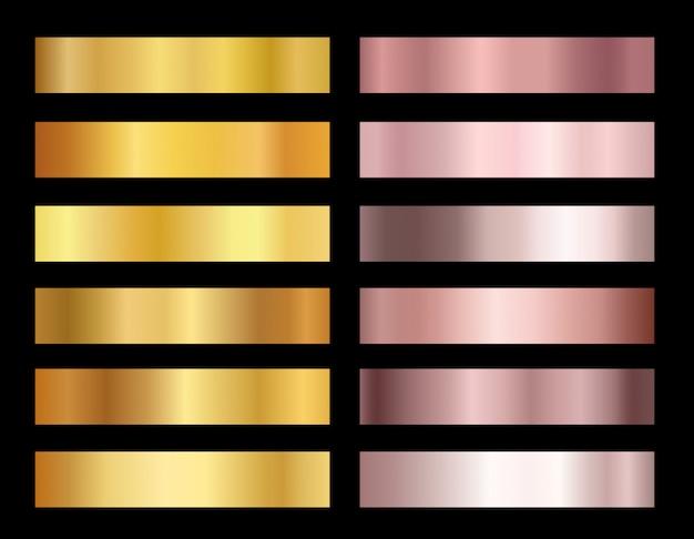 Illustrazione della collezione di nastri rossi con le forbici d'oro, su sfondo bianco.