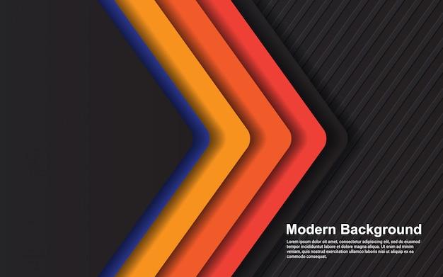 Grafico di vettore dell'illustrazione di colore astratto di pendenze dei pantaloni a vita bassa del fondo