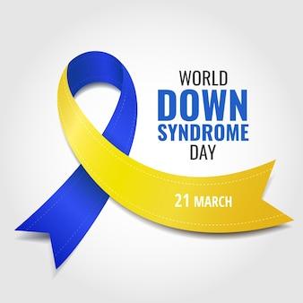 Illustrazione della giornata mondiale della sindrome di down