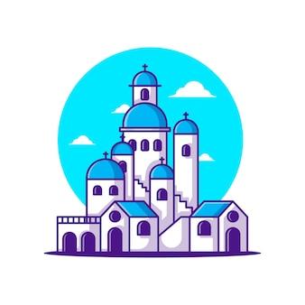Illustrazioni di santorini