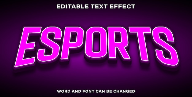 Illustrator effetti di testo modificabili esports