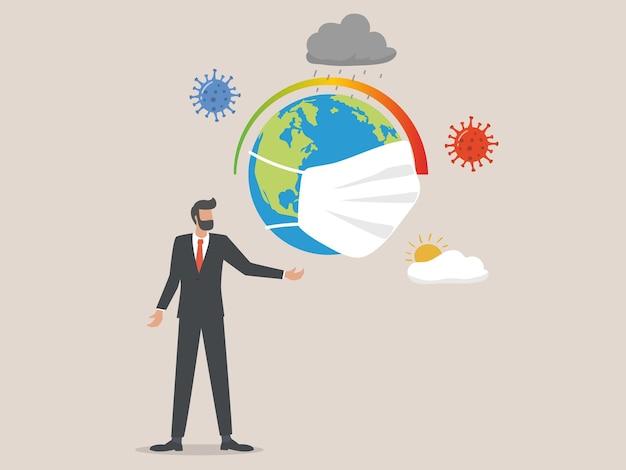 L'impatto del coronavirus sul concetto di crisi climatica