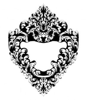 Specchio barocco imperiale