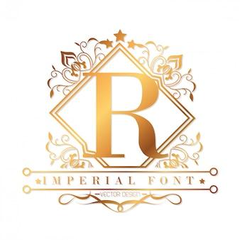 Design di carattere imperiale