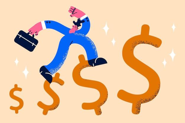 Aumentare il concetto di successo nello sviluppo del reddito