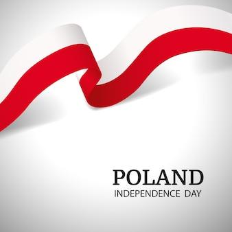 Priorità bassa di giorno di indipendenza della polonia