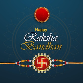Fondo felice di celebrazione di raksha bandhan di festival indiano
