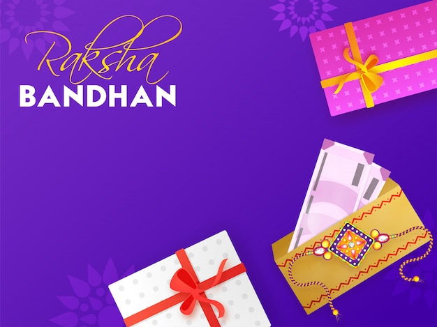 Festival indiano raksha bandhan con rakhi