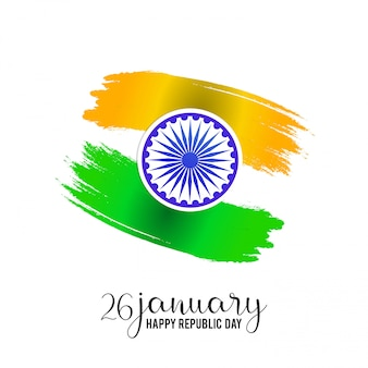 Giorno della repubblica indiana 26 gennaio baground