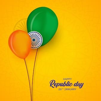 Design del festival del giorno della repubblica indiana