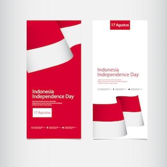 Celebrazione della festa dell'indipendenza dell'indonesia